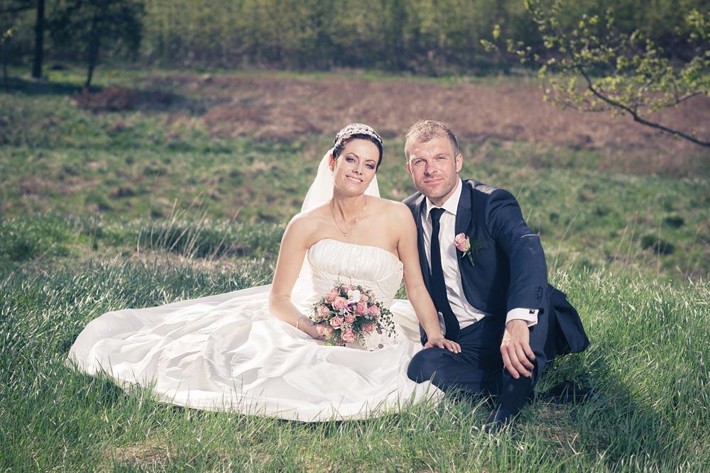 Louise og Franks bryllup